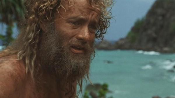 homme perdu sur une ile, barbu