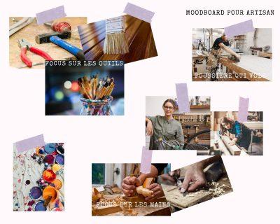 diverses photos représentant l'artisanat pour inspiration
